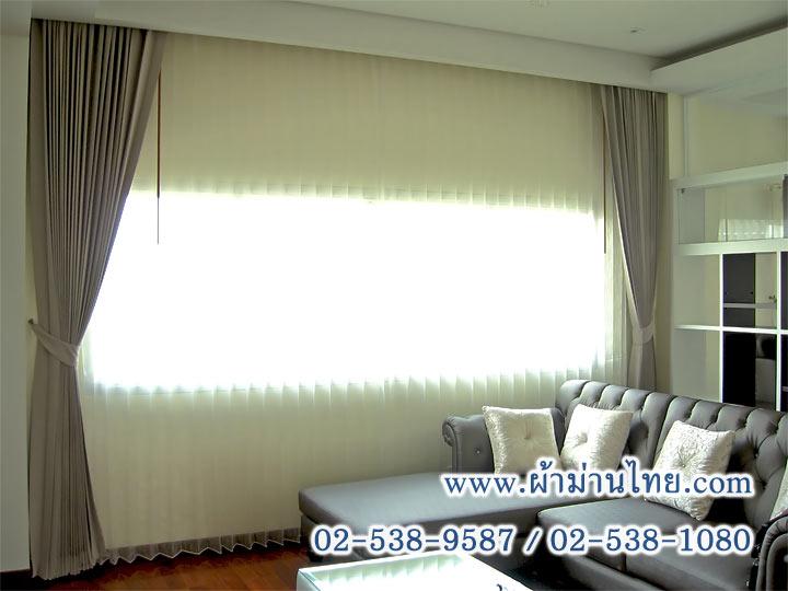 รูปแบบการติดผ้าม่านสำหรับห้องนอนที่มีหน้าต่างขนาดเล็ก